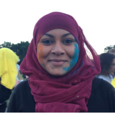 Ambeya Begum young carer Our Time trustee