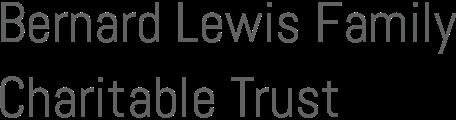 Bernard Lewis Family Trust