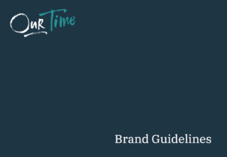Cover of brand guidelines