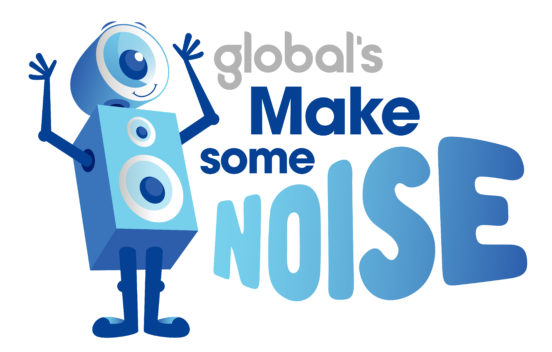 Global's Make Some Noise JPEG Logo