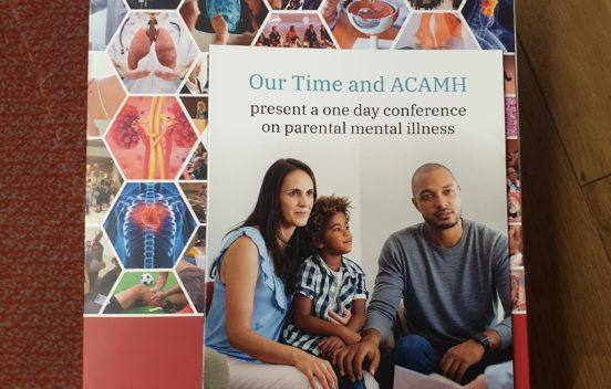 Brochure from the Our Time and ACAMH joint conference at the RSM