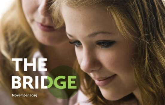 ACAMH The Bridge parental mental illness edition, front cover