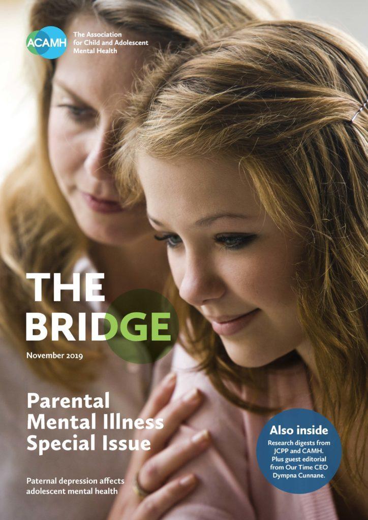ACAMH The Bridge parental mental illness edition, front cover