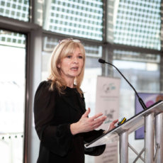 Anita Frier - Stoke Damerel Community College speaking at City Hall in 2019