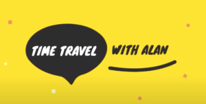 Time Travel With Alan title card