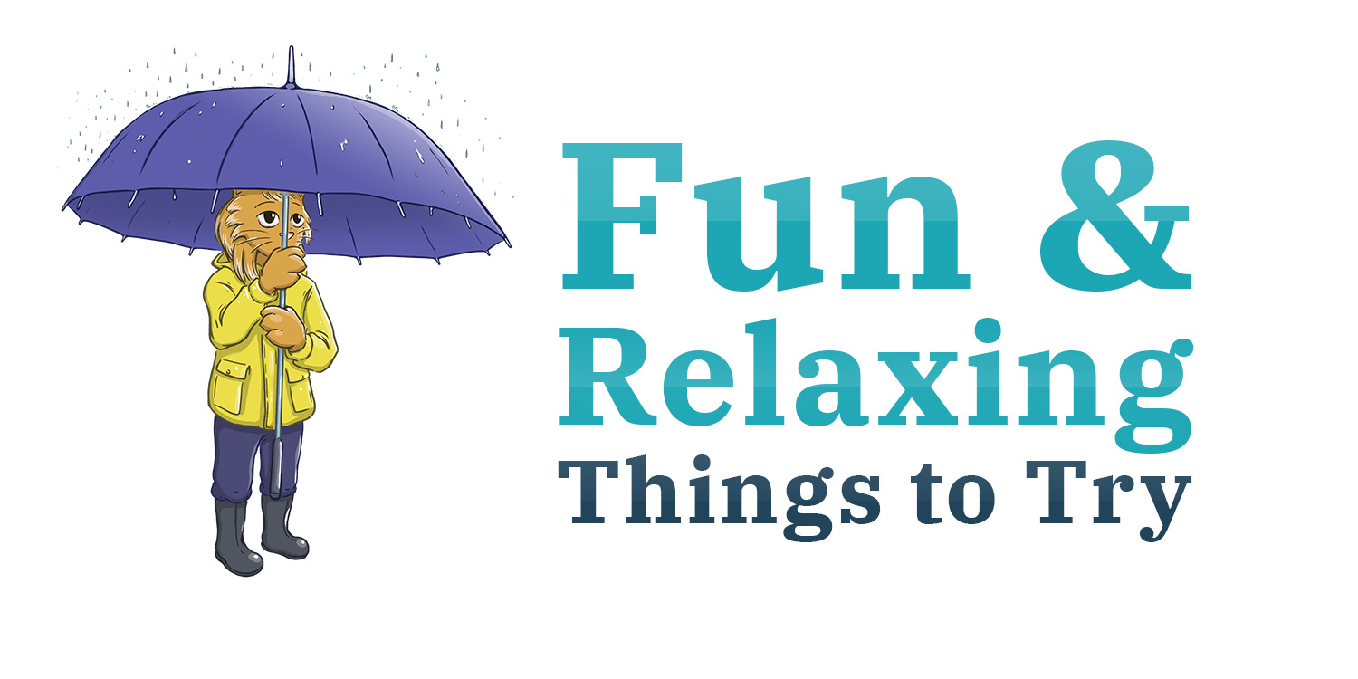 Fun and relaxing banner