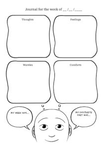 Mood journal template