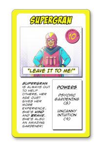 Supergran card