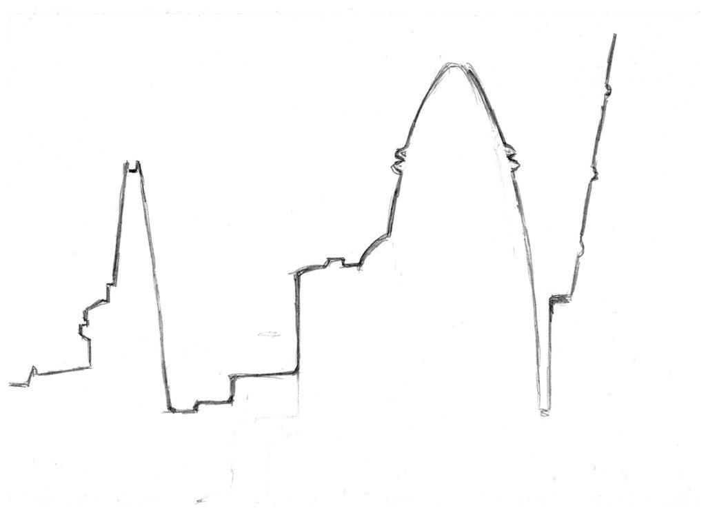 Negative Space Sketch