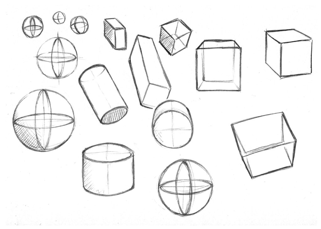 Shape sketches