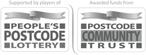 People's Postcode Lottery and Postcode Community Trust logo
