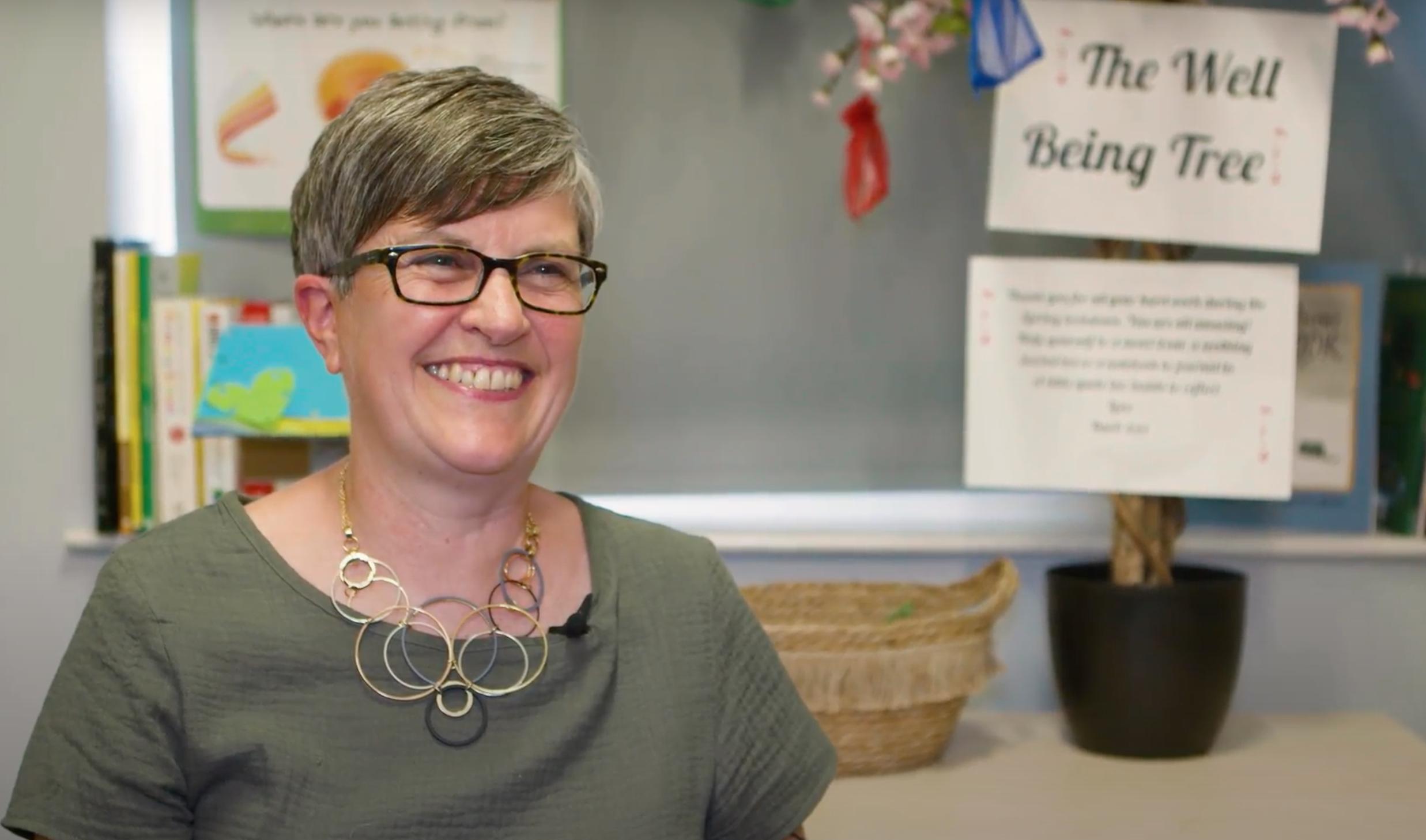 Portrait of Head Teacher Barbara Sims